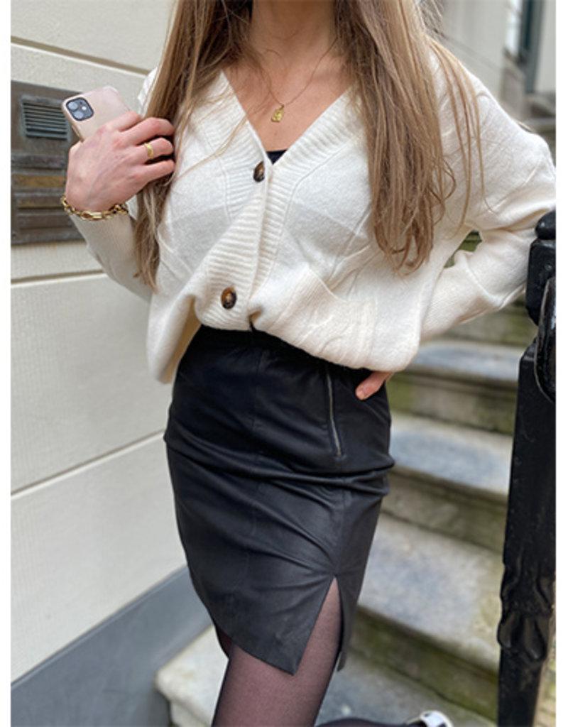 Y.A.S YASZilla HW Leather Skirt, 26018152