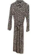Turquoise Doorknoop jurk, H159