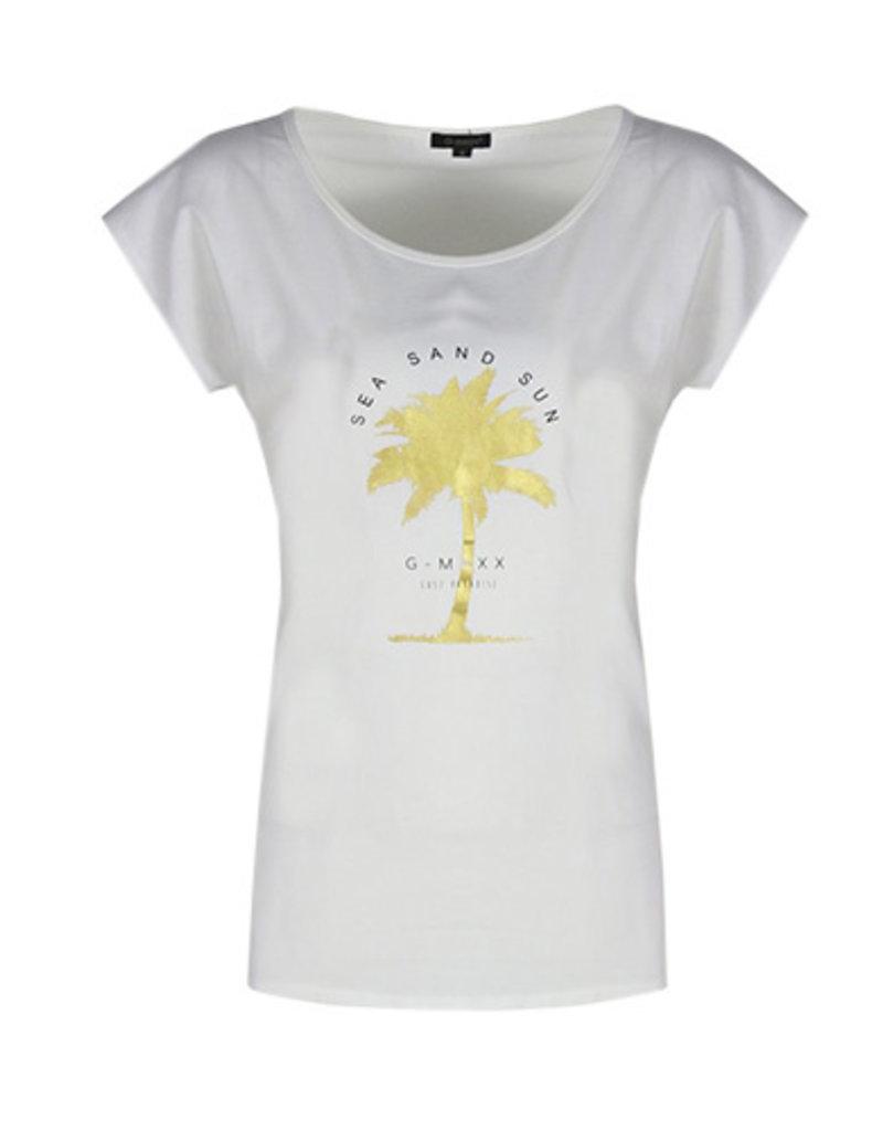 G-Maxx Alia T-shirt wit  21ZFG05-11