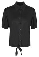 G-Maxx Annabella blouse zwart, 21ZZG13-01