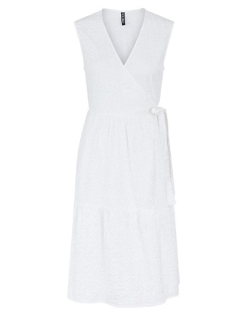 Pieces PCTereta SL Wrap Dress