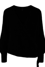 Y.A.S YASunico LS wrap knit pullover