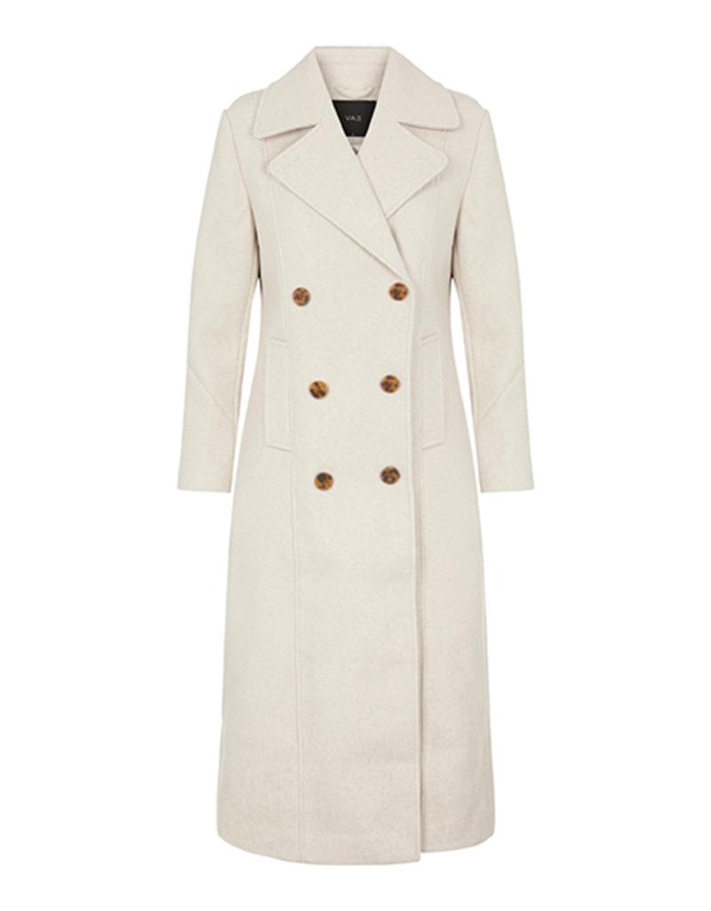 Y.A.S YASMori long wool coat