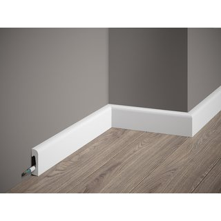 Skirting MD004 (49 x 15 mm), length 2 m