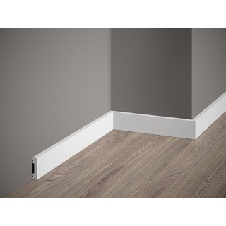 Skirting MD011 (40 x 10 mm), length 2 m