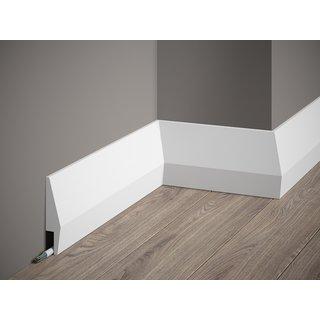 Plint MD016 LED (100 x 23 mm), lengte 2 m