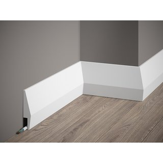 Skirting MD016 LED (100 x 23 mm), length 2 m