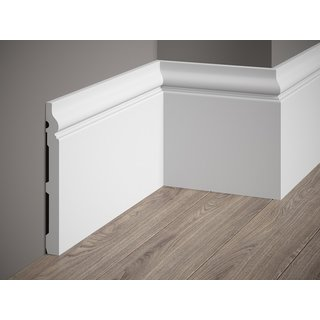 Skirting MD020 (198 x 19 mm), length 2 m