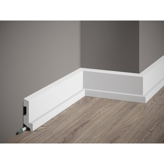 Skirting MD024 LED  (80 x 27 mm), length 2 m