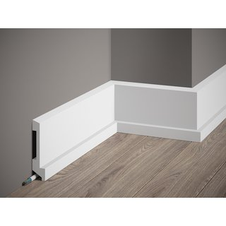 Skirting MD025 LED (110 x 27 mm), length 2 m