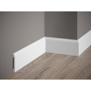 Skirting MD258 (81 x 10 mm), length 2 m
