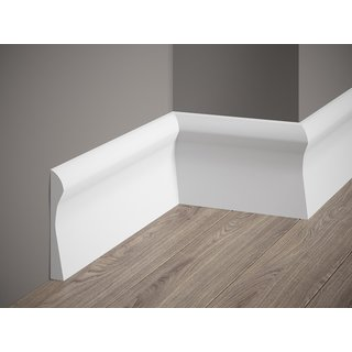 Skirting QS003 (128 x 18 mm), length 2 m