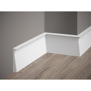 Skirting QS004 (108 x 15 mm), length 2 m