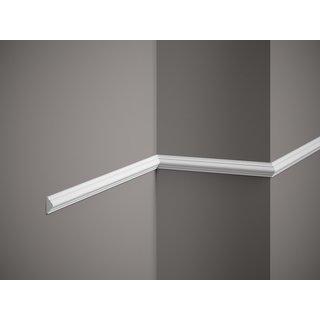 Plint MD003 (22 x 10 mm), lengte 2 m