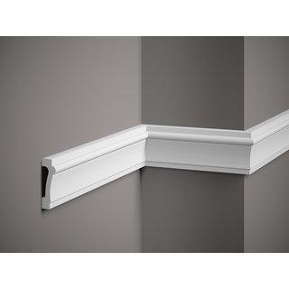 Plint MD007 (73 x 23 mm), lengte 2 m