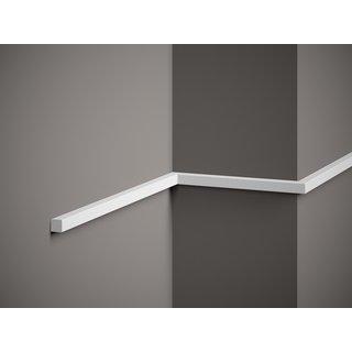 Plint MD010 (15 x 15 mm), lengte 2 m