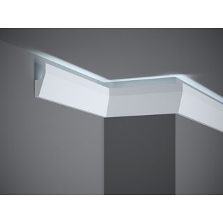Plint LED MD118 (70 x 27 mm), lengte 2 m