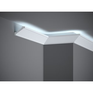 Plint LED MD368 (53 x 50 mm), lengte 2 m