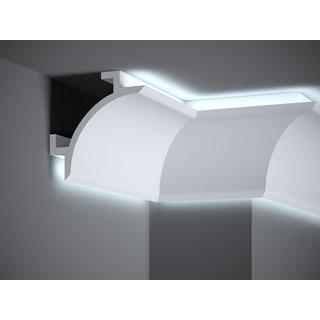 Plint LED QL001 (147 x 147 mm), lengte 2 m