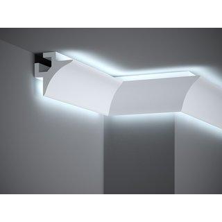 Plint LED QL002 (85 x 85 mm), lengte 2 m
