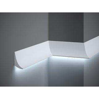 Plint QL006 LED (70 x 42 mm), lengte 2 m