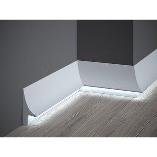 Skirting LED QL007 (93 x 42 mm), length 2 m