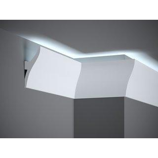 Plint LED QL010 (120 x 42 mm), lengte 2 m