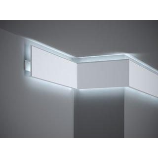 Plint LED QL018 (95 x 25 mm), lengte 2 m