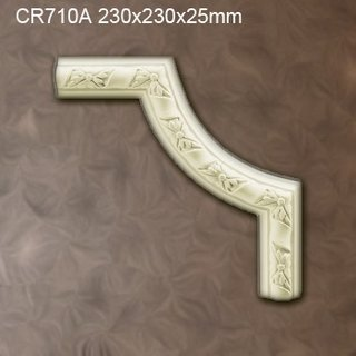 CR710A hoekbochten (230 x 230 mm), polyurethaan, set (4 hoeken)