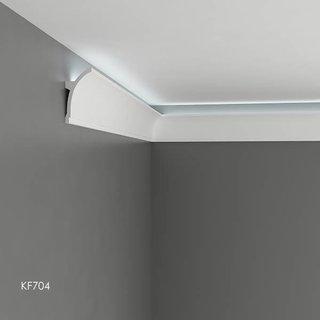 KF704 (100 x 50 mm), lengte 2 m, PU - LED sierlijst voor indirecte verlichting