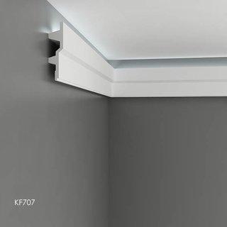 KF707 (179 x 45 mm), lengte 2 m, PU - LED sierlijst voor indirecte verlichting
