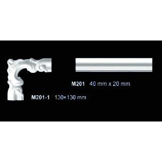 M201-1 hoekbochten (130 x 130 mm), polyurethaan, set (4 hoeken)