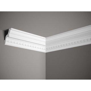 Plafondlijst K102 (87 x 85 mm), polyurethaan, lengte 2 m
