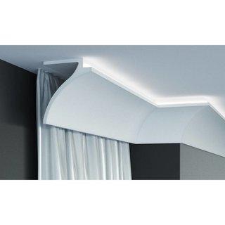 KF802 (120 x100 mm), lengte 2 m, PU - LED sierlijst voor indirecte verlichting