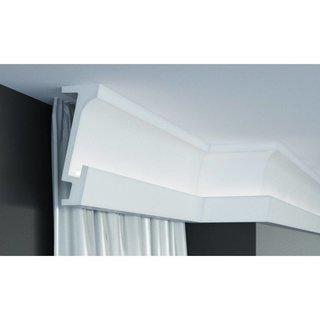 KF804 (160 x 70 mm), lengte 2 m, PU - LED sierlijst voor indirecte verlichting