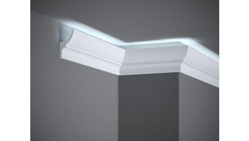 Indirecte verlichting, polyurethaan en HDPS (geen piepschuim!)