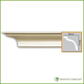 Kroonlijst P816 (94 x 90 mm), polyurethaan, lengte 2 m
