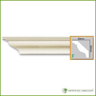 Kroonlijst P824 (40 x 40 mm), polyurethaan, lengte 2 m