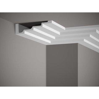 Plafondlijst P886 (190 x 50 mm), polyurethaan, lengte 2 m