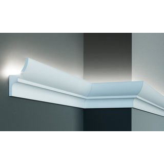 KF712 (100 x 55 mm), lengte 2 m, PU - LED sierlijst voor indirecte verlichting