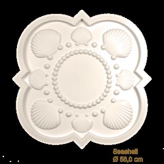 Rozet kinderkamer SEASHELL diameter 56,0 cm