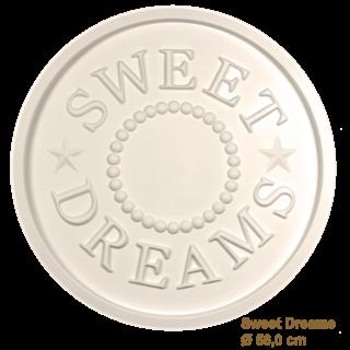 Rozet kinderkamer SWEET DREAMS diameter 56,0 cm