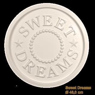Rozet kinderkamer SWEET DREAMS diameter 46,0 cm