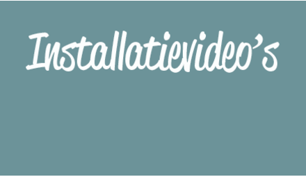 Installatievideo's