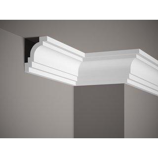 Plafondlijst K237 (102 x 76 mm), polyurethaan, lengte 2 m