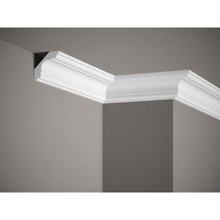 Plafondlijst K205 (59 x 59 mm), polyurethaan, lengte 2 m