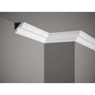 Plafondlijst K242 (55 x 50 mm), polyurethaan, lengte 2 m