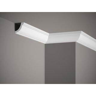 Plafondlijst K229 (50 x 50 mm), polyurethaan, lengte 2 m