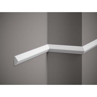 Plint QL023 (40 x 19 mm), lengte 2 m