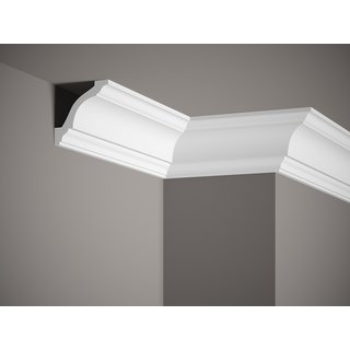 Plafondlijst K262 (81 x 81 mm), polyurethaan, lengte 2 m